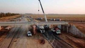 Nuevas obras en intercambiadores de la Autopista Ruta 34