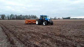 Finalizó la siembra de trigo en el centro norte de Santa Fe y la superficie implantada cayó un 7,8 %