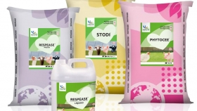 Cuatro productos de la gama Natural Solutions by Maymó, certificados para uso en ganadería ecológica